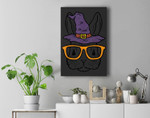 Bunny Rabbit Witch Sunglasses Cute Halloween Men Women Kids Premium Wall Art Canvas Decor