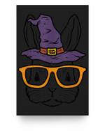 Bunny Rabbit Witch Sunglasses Cute Halloween Men Women Kids Matter Poster