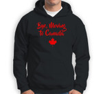 Bye Moving To Canada Funny Gift  Canadian Gifts Sweatshirt & Hoodie