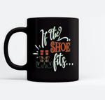 If the Shoe Fits Funny Halloween Ceramic Coffee Black Mugs