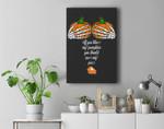 If You Like My Pumpkins You Should See My Pie PUMPKIN BOOBS Premium Wall Art Canvas Decor