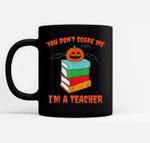 Im A Teacher Books Pumpkin Costume Easy Halloween Gifts Ceramic Coffee Black Mugs