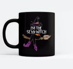 Im the Sexy Witch Halloween Matching Group Costume Ceramic Coffee Black Mugs