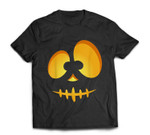 Jack O Lantern Scary Carved Pumpkin Scull Halloween Costume T-shirt
