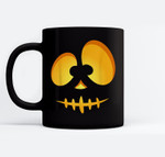 Jack O Lantern Scary Carved Pumpkin Scull Halloween Costume Ceramic Coffee Black Mugs