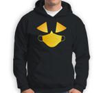 Jack O' Lantern Pumpkin with Mask simple Halloween Costume Sweatshirt & Hoodie