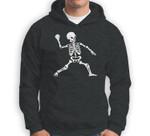 Baseball Halloween Skeleton Costume Celebration Sweatshirt & Hoodie