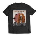 Bassetzilla Funny Basset Hound  Gift for Dog Lovers T-shirt