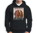 Bassetzilla Funny Basset Hound  Gift for Dog Lovers Sweatshirt & Hoodie