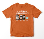 A History Of Horror Masks Funny Halloween Movie Costume Youth Hoodie/T-shirt