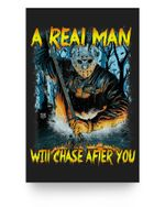 A Real Man Will Chase After You Matter Poster