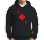 Ace of Diamonds - Playing Card Halloween Costume Sweatshirt & Hoodie