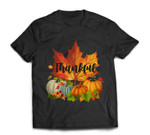 Happpy Thanksgiving Day Autumn Fall Maple Leaves Thankful T-shirt