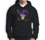 Halloween Owl Happy Halloween Sweatshirt & Hoodie