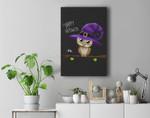 Halloween Owl Happy Halloween Premium Wall Art Canvas Decor