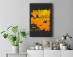Halloween Party - Happy Halloween Premium Wall Art Canvas Decor