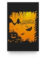 Halloween Party - Happy Halloween Matter Poster