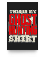 Halloween Party Disguise Ghost Buster Costume Hunter Matter Poster