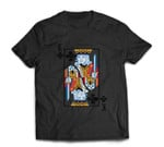 Halloween Playing Card Costume KING of CLUBS design T-shirt