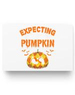 Halloween Pregnancy Women Men Expecting Little Pumpkin Matter Poster