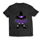 Halloween Pregnant Witch T-shirt