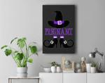 Halloween Pregnant Witch Premium Wall Art Canvas Decor
