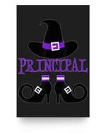 Halloween Principal Witch Matter Poster