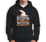 Halloween Witch & School Bus Driver Sweatshirt & Hoodie