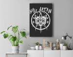 HALLOWEEN, SATANIC & SPOOKY GOTHIC OCCULT Premium Wall Art Canvas Decor