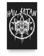 HALLOWEEN, SATANIC & SPOOKY GOTHIC OCCULT Matter Poster