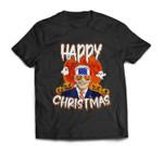 Happy Christmas Funny Biden Jokes Horrors Halloween Pumpkin T-shirt