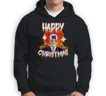 Happy Christmas Funny Biden Jokes Horrors Halloween Pumpkin Sweatshirt & Hoodie