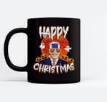Happy Christmas Funny Biden Jokes Horrors Halloween Pumpkin Ceramic Coffee Black Mugs