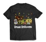 Happy Halloween - Jack-O-Lantern Pumpkin Monsters Halloween T-shirt
