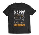 Happy Halloweiner Dachshund Dog Halloween Pet Owner Gift T-shirt