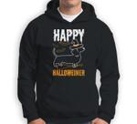 Happy Halloweiner Dachshund Dog Halloween Pet Owner Gift Sweatshirt & Hoodie