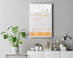 Happy Halloweiner Dachshund Dog Halloween Pet Owner Gift Premium Wall Art Canvas Decor