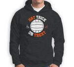 Hat Trick Or Treat Halloween In Water Polo Funny Sweatshirt & Hoodie