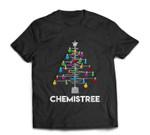 Chemistree Funny Christmas Science Lover Pun T-shirt
