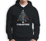 Chemistree Funny Christmas Science Lover Pun Sweatshirt & Hoodie
