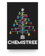 Chemistree Funny Christmas Science Lover Pun Matter Poster