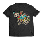 Chihuahua Halloween Day Of The Dead T-shirt
