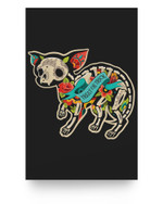 Chihuahua Halloween Day Of The Dead Matter Poster