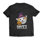 Chihuahua Witch Happy Howl O Ween Halloween Chiwawa Dog T-shirt