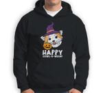 Chihuahua Witch Happy Howl O Ween Halloween Chiwawa Dog Sweatshirt & Hoodie