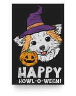 Chihuahua Witch Happy Howl O Ween Halloween Chiwawa Dog Matter Poster