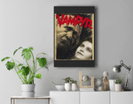 Classic Halloween Monster Poster Horror Movie Premium Wall Art Canvas Decor