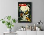 Classic Monster Poster Horror Comic Book Premium Wall Art Canvas Decor