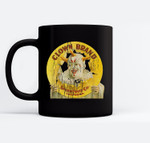 Clown Brand Creepy Vintage Advertising Halloween Ceramic Coffee Black Mugs