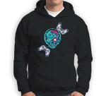 Console Arcade Control Zombie Halloween Candy Body Spooky Sweatshirt & Hoodie